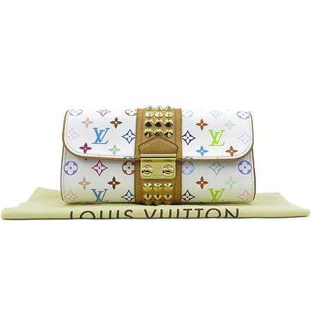 Louis Vuitton(루이비통) M45639  모노그램 멀티 컬러 화이트 코트니 클러치 [명동매장]