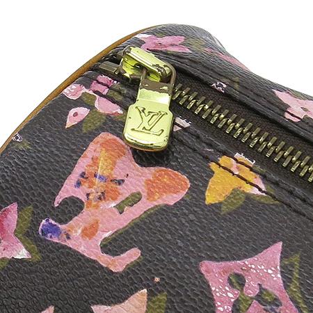 Louis Vuitton(루이비통) M95753 모노그램 한정판 워터컬러 아쿠아렐 블랙 파필론 30 토트백