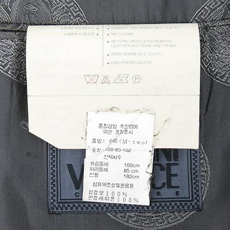 Versace(베르사체) 그레이컬러 2버튼 정장