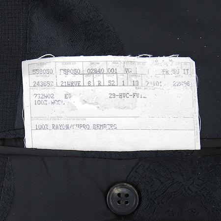Versace(베르사체) 블랙컬러 2버튼 정장