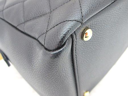 Chanel(샤넬) A18004Y01864 캐비어스킨 블랙 정방 금장 체인 숄더백 [분당매장] 이미지5 - 고이비토 중고명품