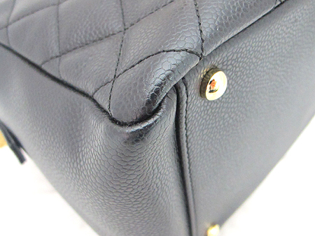Chanel(샤넬) A18004Y01864 캐비어스킨 블랙 정방 금장 체인 숄더백 [분당매장]