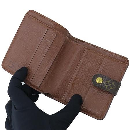 Louis Vuitton(루이비통) M61667 모노그램 캔버스 지퍼 컴팩트 월릿 반지갑 [압구정매장] 이미지3 - 고이비토 중고명품