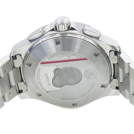 Tag Heuer(태그호이어) CAP2110 BA0833 AQUARACER (아쿠아레이서)  크로노그래프 오토매틱 남성용 스틸 시계 [명동매장]