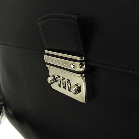 Montblanc(몽블랑) 은장 로고 장식 블랙 레더 서류가방 2WAY [인천점] 이미지3 - 고이비토 중고명품