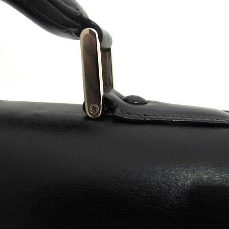 Montblanc(몽블랑) 은장 로고 장식 블랙 레더 서류가방 2WAY [인천점] 이미지4 - 고이비토 중고명품