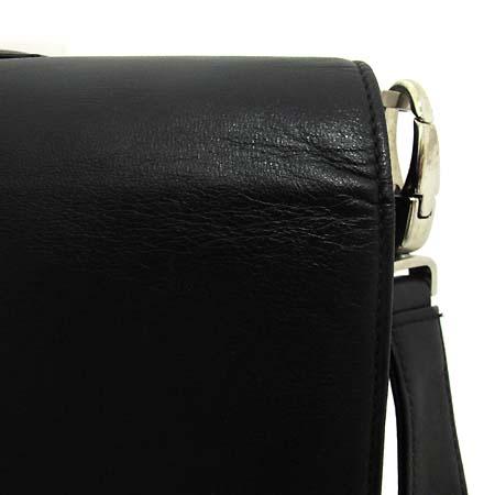 Montblanc(몽블랑) 은장 로고 장식 블랙 레더 서류가방 2WAY [인천점] 이미지5 - 고이비토 중고명품