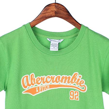 Abercrombie(아베크롬비) 그린컬러 반팔 티