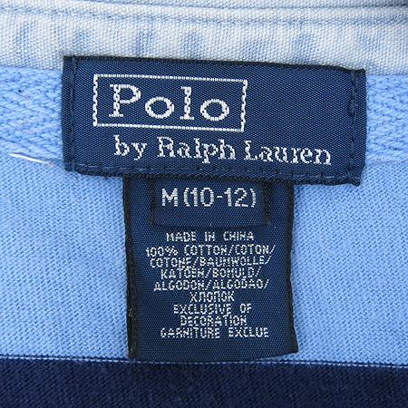 Polo Ralphlauren(폴로) 아동용 스트라이프 카라 티 이미지6 - 고이비토 중고명품