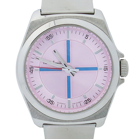 Paul Smith(폴스미스) 핑크 다이얼 스틸밴드 여성용 시계