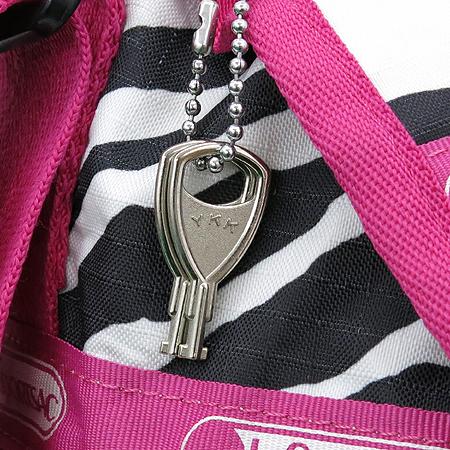Lesportsac(레스포삭) 지브라 패브릭 핑크 2WAY