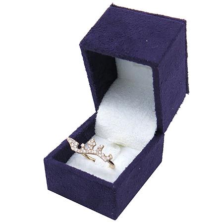 J.ESTINA(제이에스티나) 14K 로즈골드 크라운장식 반지