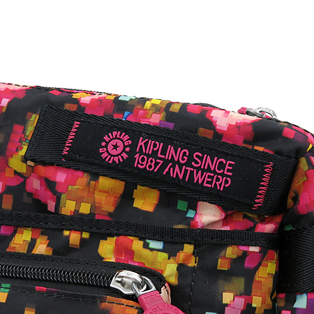 KIPLING(키플링) 패브릭 포켓 크로스백