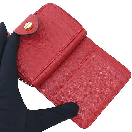 Borbonese(보르보네제) 금장 로고 장식 카드 겸 동전지갑