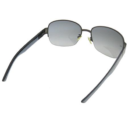 GIORGIO ARMANI(조르지오 아르마니) GA55 측면 로고 반무테 선글라스 이미지3 - 고이비토 중고명품