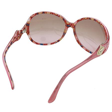 EMILIO PUCCI(에밀리오 푸치) EP605S 측면 금장로고 핑크 뿔테 선글라스