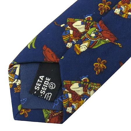 Ferragamo(페라가모) 100% 실크 넥타이 이미지5 - 고이비토 중고명품