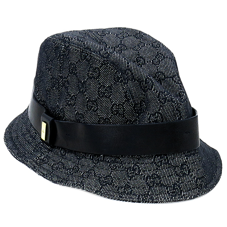 Gucci(구찌) GG로고 데님 벙거지 모자