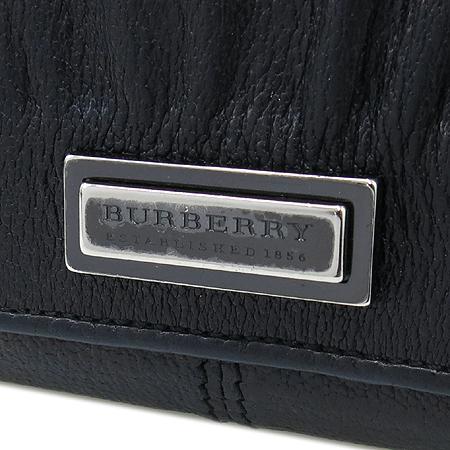 Burberry(버버리) 블랙 레더 3단 반지갑