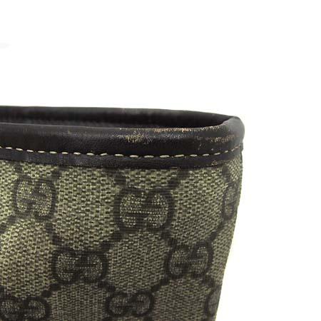 Gucci(구찌) 211120 GG로고 PVC 레더 트리밍 쇼퍼 숄더백 [부천 현대점]