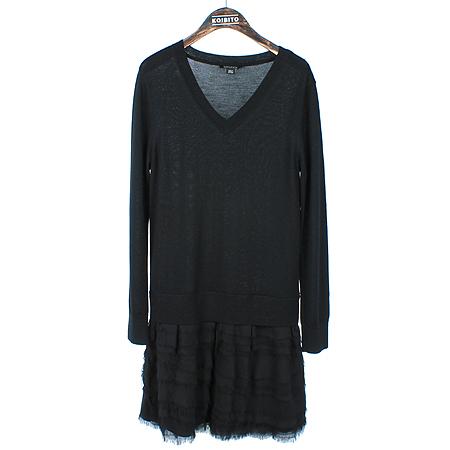 DKNY(도나카란) 블랙컬러 실크혼방 원피스