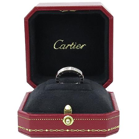 Cartier(까르띠에) B40450 18K 화이트 골드 라니에르 반지 -6호