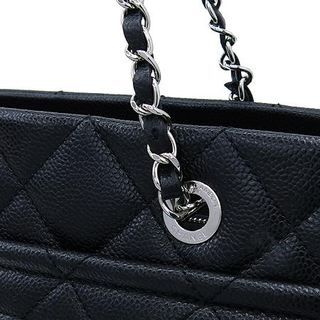 Chanel(샤넬) A67294Y06500 블랙 소프트 캐비어 타임리스 CC 스몰 사이즈 은장 체인 숄더백 [명동매장]
