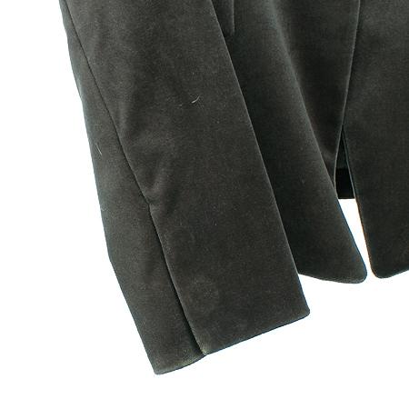 Mine(마인) 다크그린컬러 벨벳 자켓 (배색:실크100)