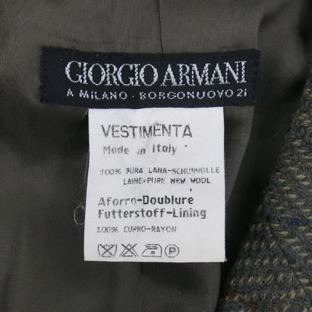 GIORGIO ARMANI(조르지오 아르마니) 카키컬러 2버튼 자켓