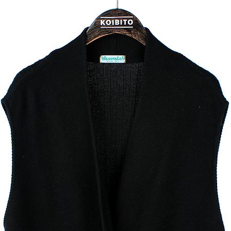 Scratch(스크래치) 블랙컬러 롱 베스트