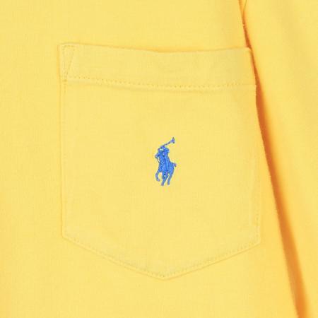 Polo Ralphlauren(폴로) 아동용 옐로우컬러 포켓 티