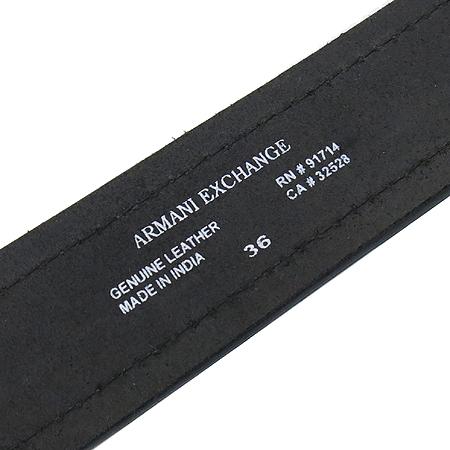 Armani(아르마니) 브라운 레더 남성용 벨트