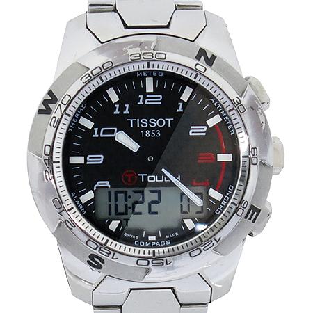 TISSOT(티쏘) T043.420.44.207.00  T TOUCH2(티 터치2) 티타늄 스틸 남성용 시계