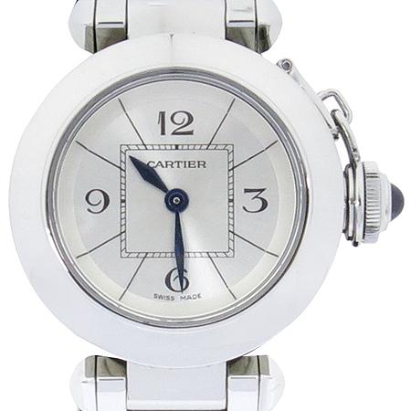 Cartier(까르띠에) W3140007 미스 파샤 쿼츠 스틸 여성용 시계