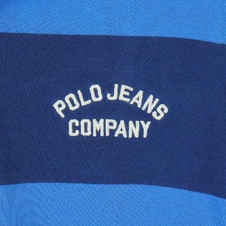 Polo Jeans(폴로 진스) 블루, 네이비컬러 스트라이프 카라 티