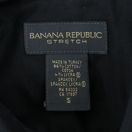 Banana Republic(바나나리퍼블릭) 블랙컬러 남방