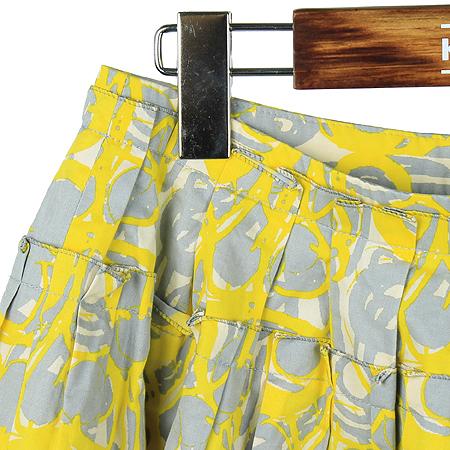 O'2nd(오즈세컨) 옐로우, 그레이컬러 패턴 스커트