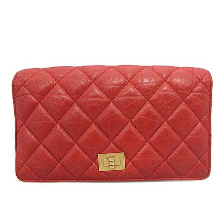 Chanel(샤넬) A35304 2.55 레드 컬러 마트라쎄 장지갑 [부산센텀본점] 이미지2 - 고이비토 중고명품