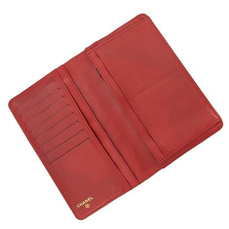 Chanel(샤넬) A35304 2.55 레드 컬러 마트라쎄 장지갑 [부산센텀본점] 이미지3 - 고이비토 중고명품