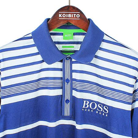 Hugo Boss(휴고보스) 스트라이프 카라 반팔 티 이미지2 - 고이비토 중고명품