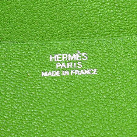 Hermes(에르메스) 그린 레더 쁘디 다이어리 커버