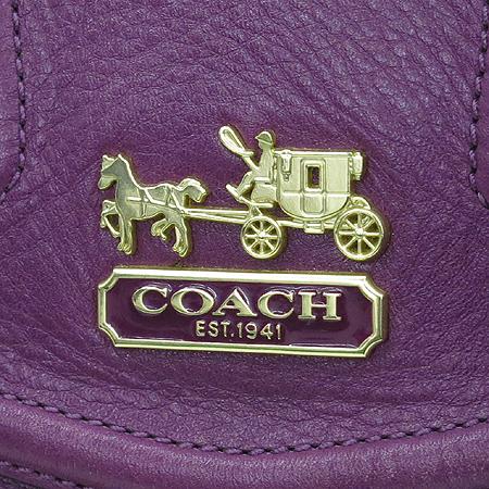 Coach(코치) 14316 퍼플 레더 뉴 오드리 메디슨 토트백 + 숄더스트랩 [부산센텀본점] 이미지5 - 고이비토 중고명품