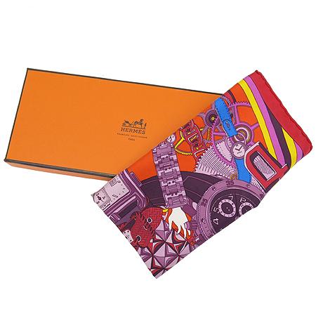 Hermes(에르메스) 100% 실크 쁘띠 스카프