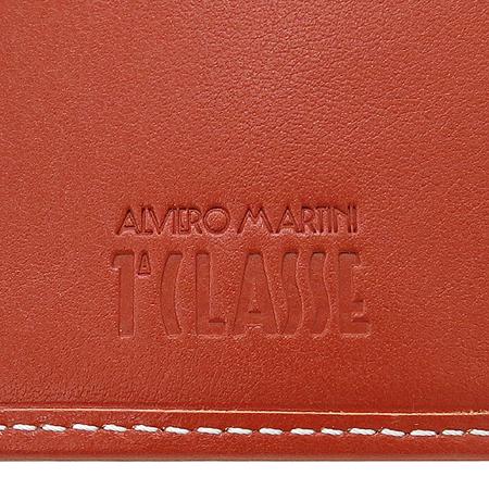 ALVIERO MARTINI(알비에로 마르티니) P141AW001 금장 로고 장식 PVC 2단 중지갑
