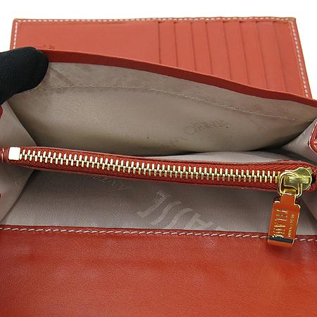 ALVIERO MARTINI(알비에로 마르티니) P141AW001 금장 로고 장식 PVC 2단 중지갑 이미지6 - 고이비토 중고명품