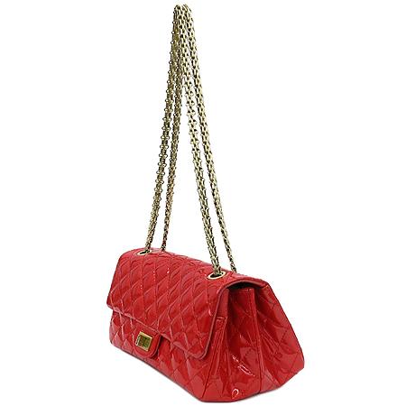 Chanel(샤넬) 2.55 페이던트 레드 금장로고 체인 숄더백 이미지2 - 고이비토 중고명품