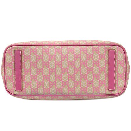 Bean Pole(빈폴) 빈폴 로고 PVC 핑크 레더 쇼퍼백