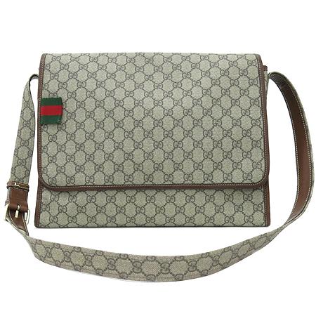 Gucci(구찌) 246411 GG 로고 PVC 크로스백