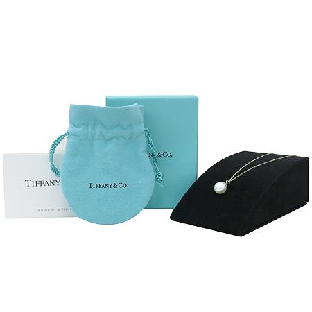 Tiffany(티파니) 진주 팬던트 925(실버) 목걸이