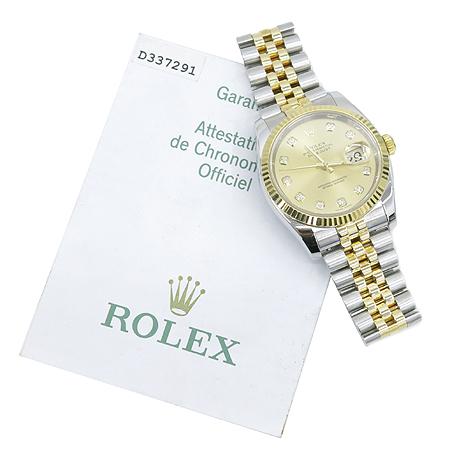 Rolex(�η���) 116233 DATEJUST(����Ʈ��Ʈ) 18K�� 10����Ʈ���̾� ������ð�